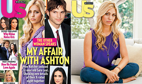 Sara Leal: My affair with Ashton Kutcher
