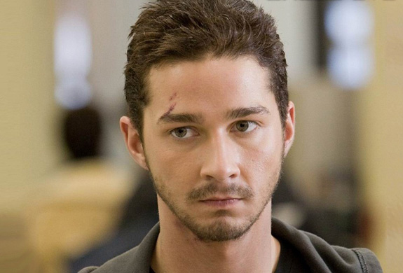 Shia LaBeouf will cut you!