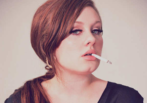 Adele needs to stop #%$!&* smoking!