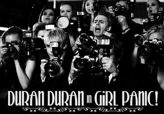 Watch: Duran Duran's 'Girl Panic!'