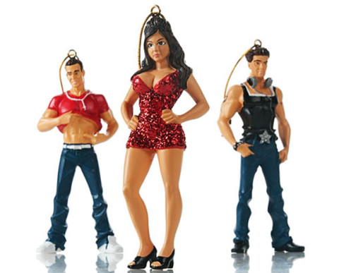Jersey Shore Christmas Ornaments