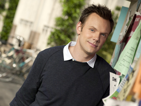 Joel McHale makes coffee sexy!