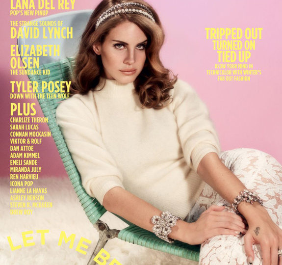 Lana Del Rey's first magazine cover!
