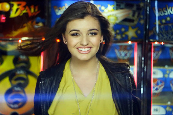 Rebecca Black's new music video!