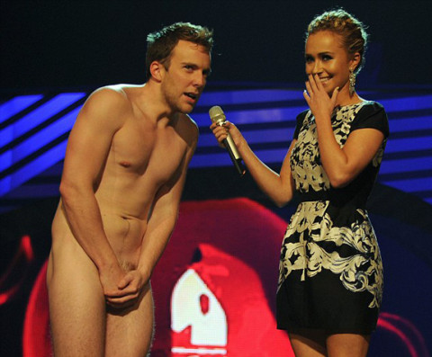 Hayden Panettiere and David Monahan