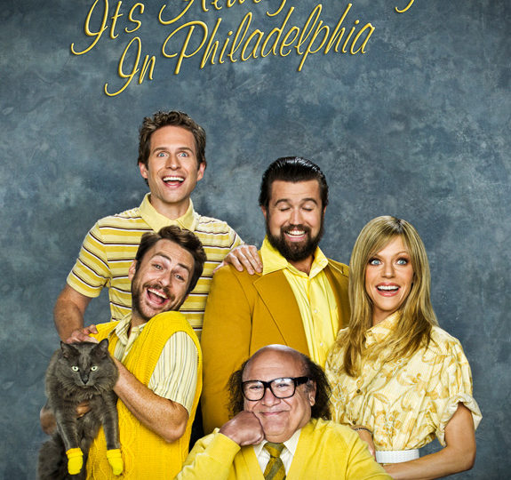 'It's Always Sunny in Philadelphia' … the most brilliant comedy on TV … ever!