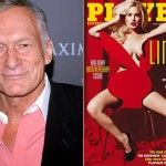 Hugh Hefner and Lindsay Lohan