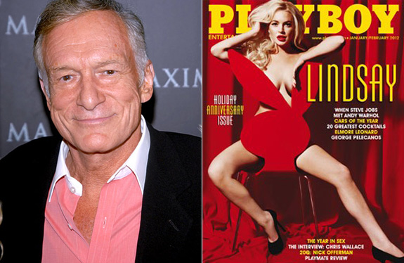 Hugh Hefner: Playboy will turn Lindsay's career around!