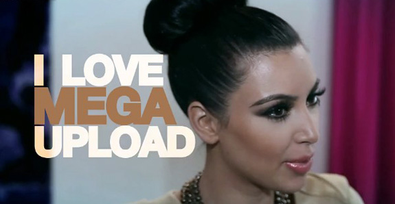 Does Kim Kardashian even know what Megaupload is?