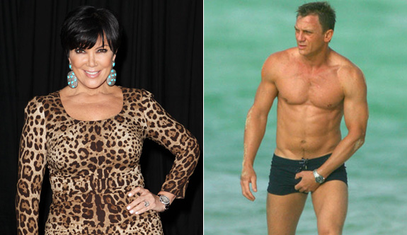 Kris Jenner wants an apology from Daniel Craig!