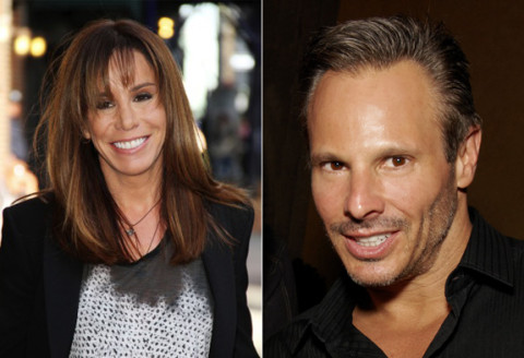 Melissa Rivers and Steve Hirsch