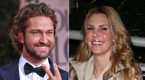 Gerard Butler and Brandi Glanville