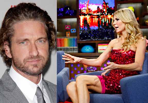 Gerard Butler doesn't who Brandi Glanville is