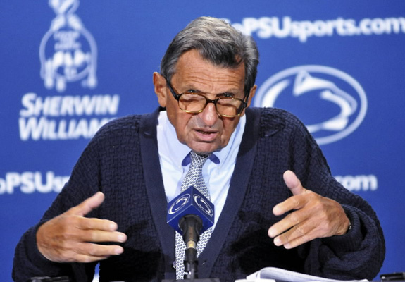 Joe Paterno is dead at 85