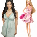 Kim Kardashian and Barbie