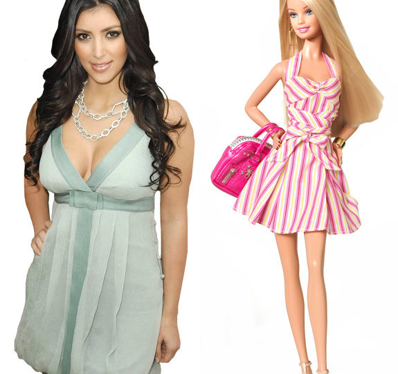 Kim Kardashian is getting her own Barbie Doll