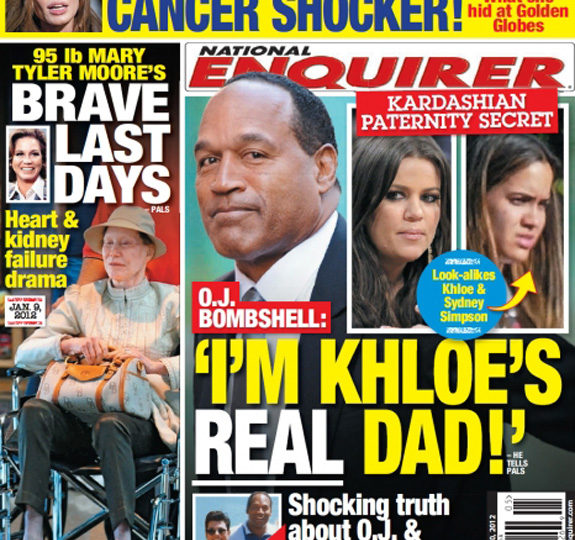 Could O.J. Simpson be Khloe Kardashian's dad?