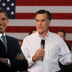 Barack Obama, Mitt Romney and Kim Kardashian