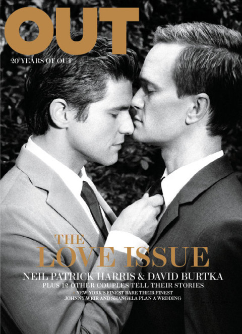 Neil Patrick Harris and David Burtka - OUT Magazine