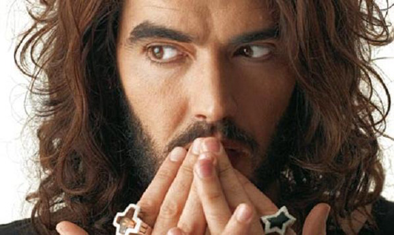"Russell Brand is allegedly into ""wheelchair porn"""