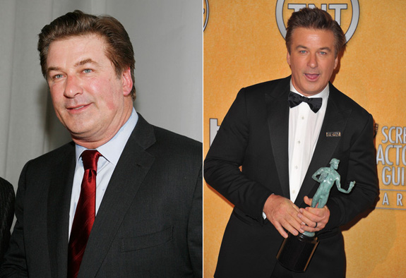 Alec Baldwin isn't as fat as he used to be!
