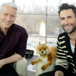 Anderson Cooper and Adam Levine