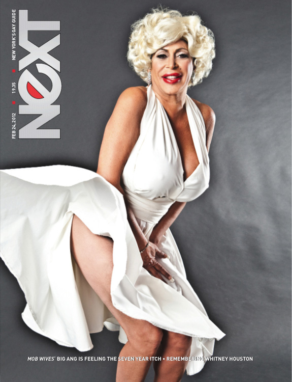 Big Ang does Marilyn Monroe