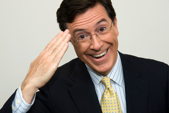 Stephen Colbert: Leaving 'The Colbert Report' to replace Letterman