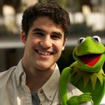 Darren Criss and Kermit the Frog
