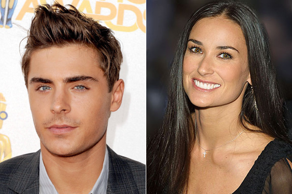 Demi Moore and Zac Efron?!