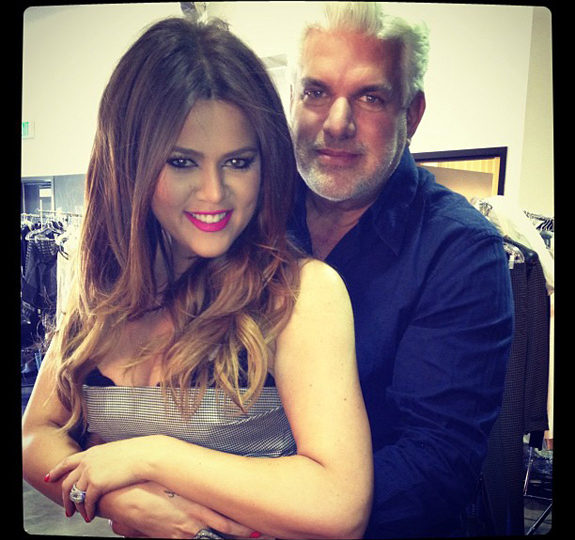 Khloe Kardashian took a picture with her 'Dad'