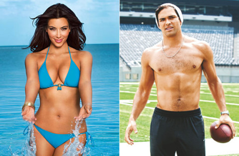 Kim Kardashian and Mark Sanchez