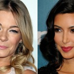 LeAnn Rimes and Kim Kardashian