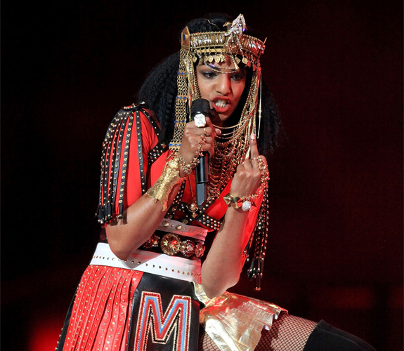 EVERYBODY PANIC: It's M.I.A.'s middle finger!