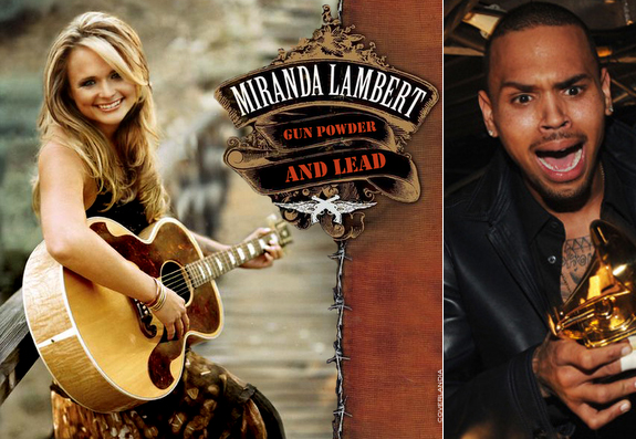 Miranda Lambert and Chris Brown