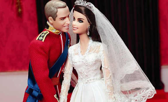 Prince William and Kate Middleton Barbies?!