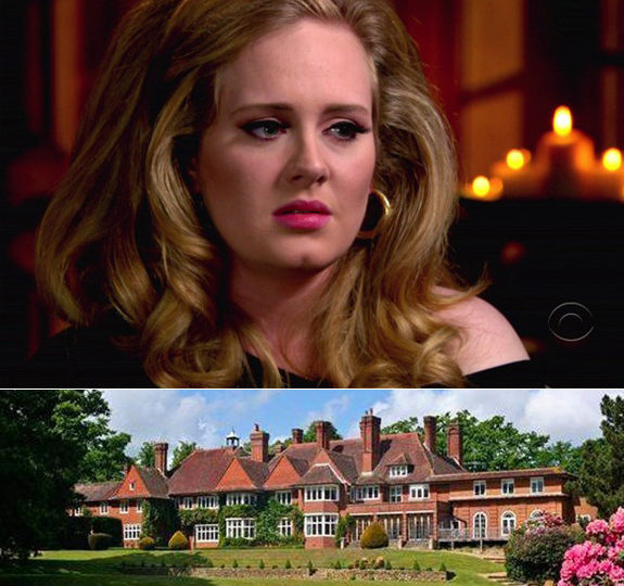 Adele thinks her house is haunted!