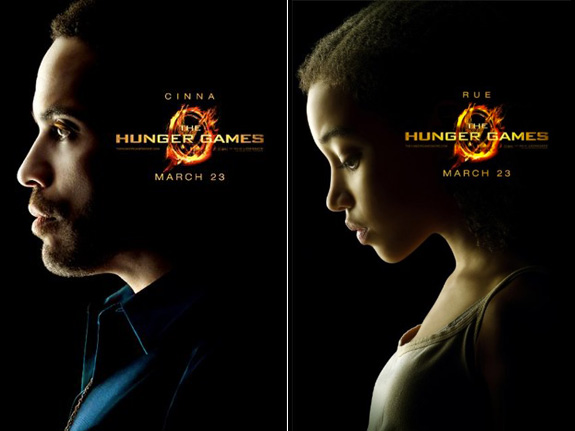 Racists are upset over 'The Hunger Games'