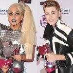 Lady Gaga and Justin Bieber