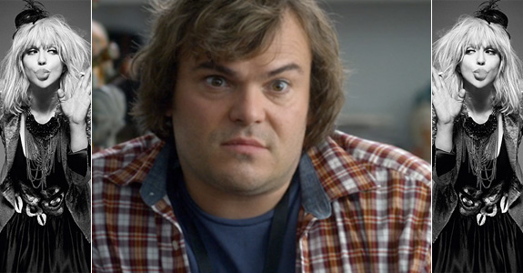 Jack Black doesn't agree with Courtney Love