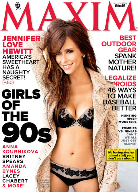 Jennifer Love Hewitt - Maxim Magazine