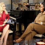 Lady Gaga and Oprah Winfrey