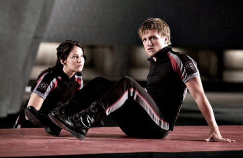 Jennifer Lawrence and Josh Hutcherson