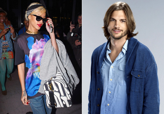 Rihanna Slams Ashton Kutcher Romance Rumors I m Happy and I m Single