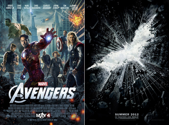 'The Avengers' + a new 'The Dark Knight Rises' trailer!