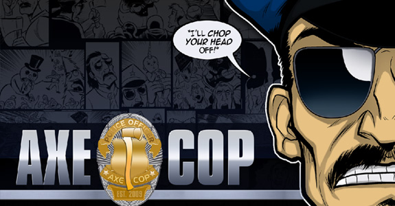 'Axe Cop' is being adapted into a show!