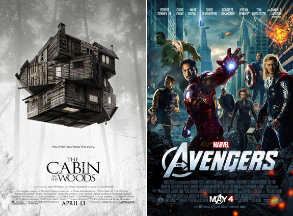 The Cabin In The Woods and The Avengers