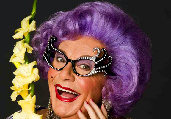 Dame Edna joined Jenny Craig!