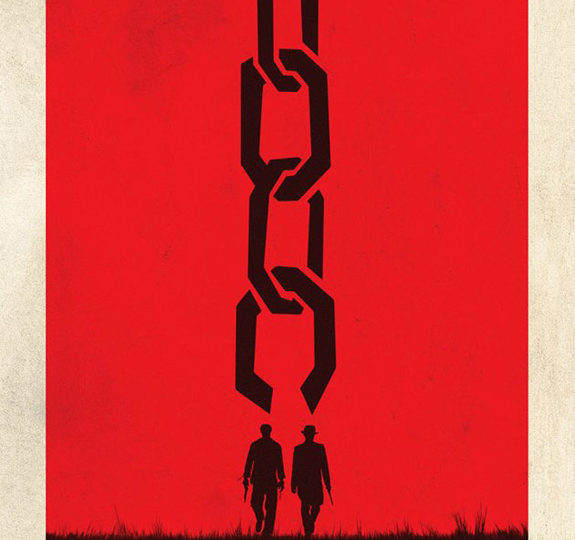 The first teaser poster for 'Django Unchained'