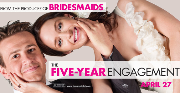 Go see 'The Five-Year Engagement'